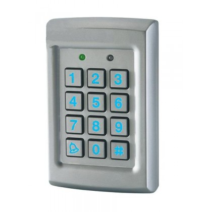 Prastel EASYBKA Access control unit with blue backlite keypad